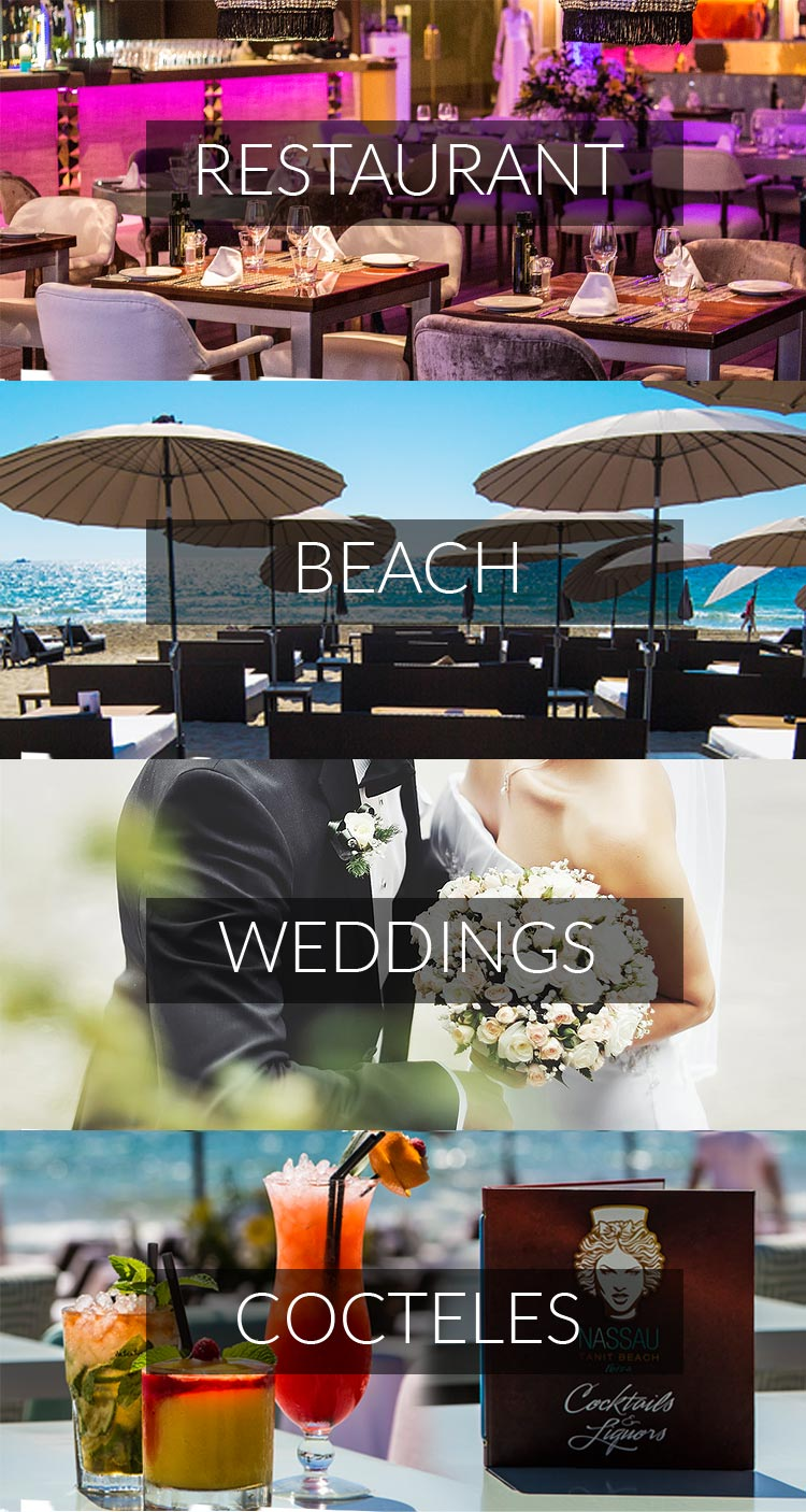Nassau Tanit Beach Ibiza club playa restaurante bodas eventos espectaculos cocktails music boutique